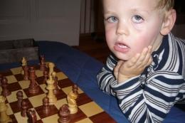 Schach für Anfänger. Foto: Eigentum der Autorin.