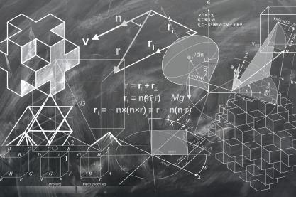 Wir alle versuchen, das Geschehen in der Welt um uns herum zu verstehen, um es berechenbar zu machen. Bild: geralt via pixabay (https://pixabay.com/de/geometrie-mathematik-würfel-1023846/, CC: https://creativecommons.org/publicdomain/zero/1.0/deed.de)